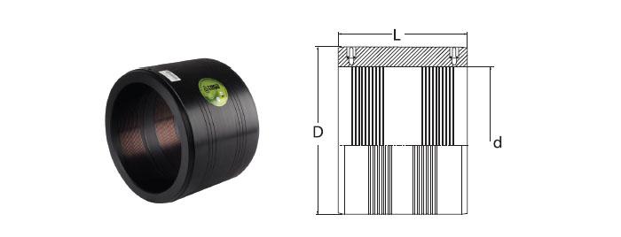 Sdr electrofusion coupler dips tega mühendislik