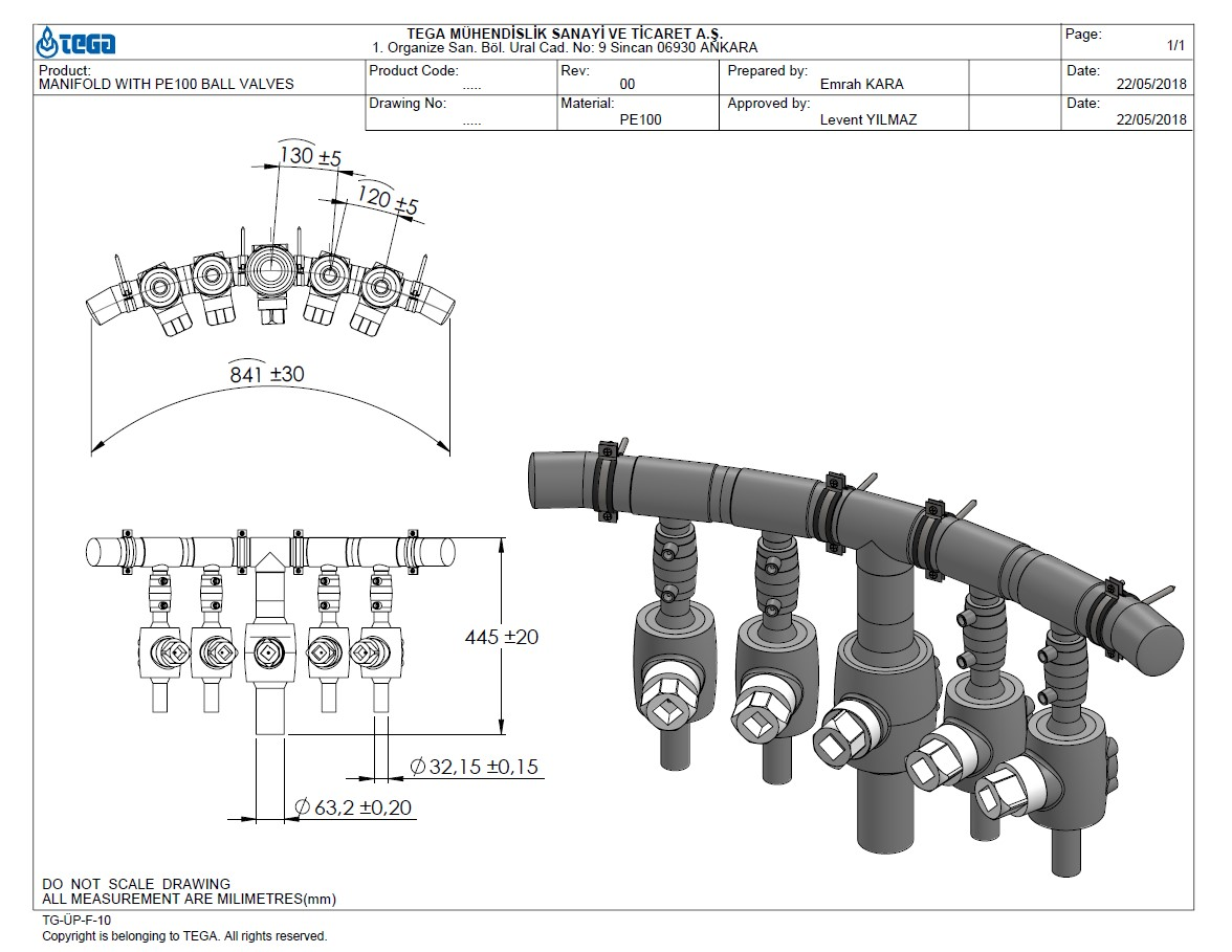 manifold-with-ball-valves