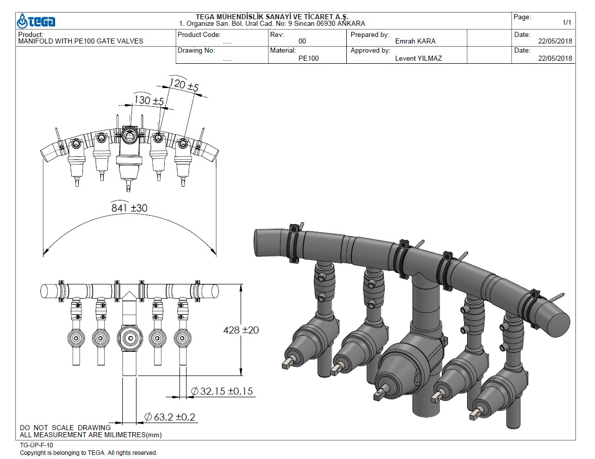 manifold-with-gate-valves